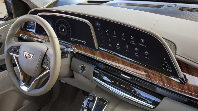 2021 Cadillac Escalade SUV .. The Future Vehicle   Q Motor