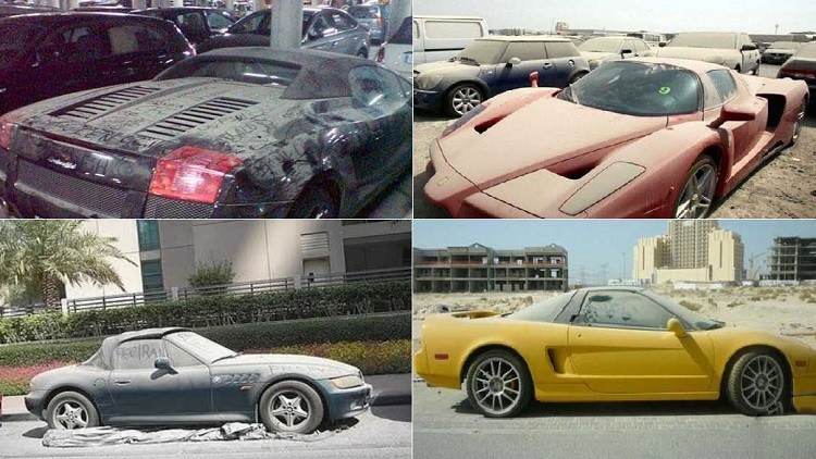 The Most Expensive Luxury Car Abandoned In Street Q Motor