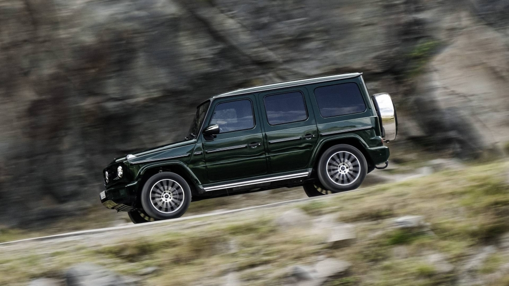 Finally … Mercedes G-Class is out   Q Motor
