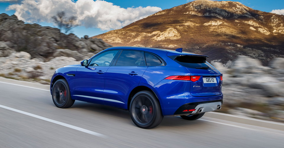 jaguar f-pace will heat up the suv competition | q motor