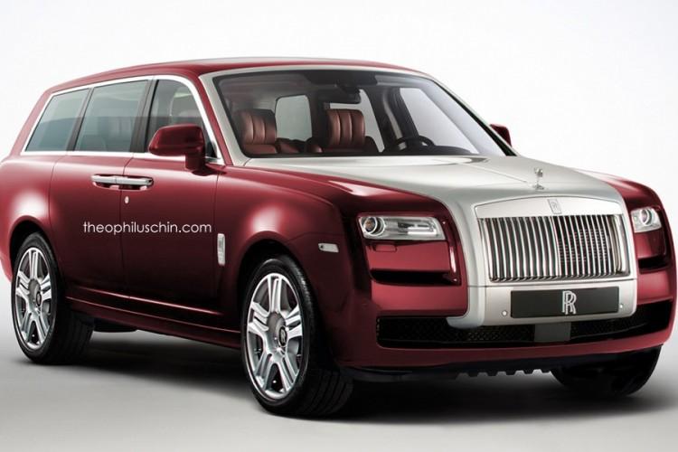 Rolls Royce Is Making An Suv
