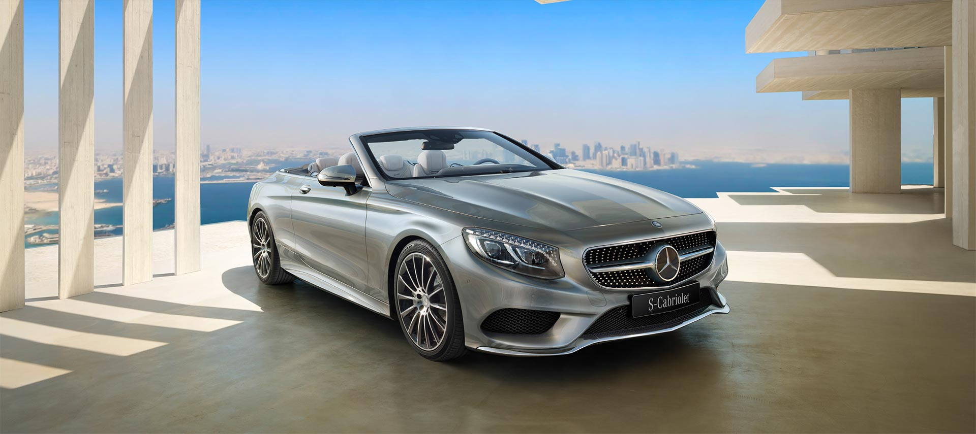 Limited time offer from Nasser Bin Khaled on the Mercedes